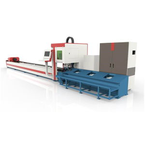 Semi-automatic Tube Laser Cutting Machine with Unloading System