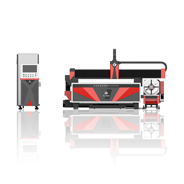 Open Type Single Table Sheet and Tube Laser Cutting Machine